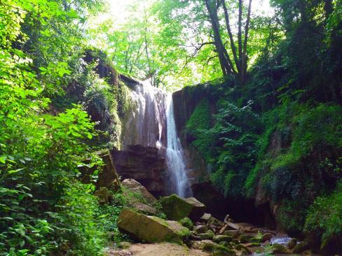 آبشار ترز لفور سوادکوه- استان مازندران- سلمان