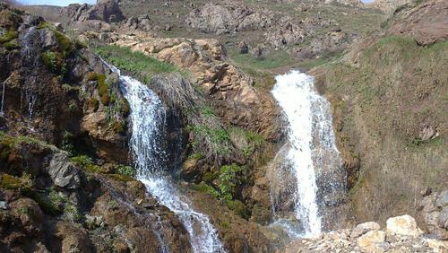 آبشار سجن کلور-شهرستان خلخال- استان اردبیل