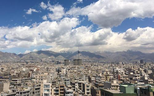 آسمان تهران- محمد سلیمانی