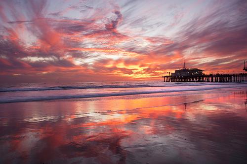 اسکله سانتا مونیکا لس آنجلس- آمریکا