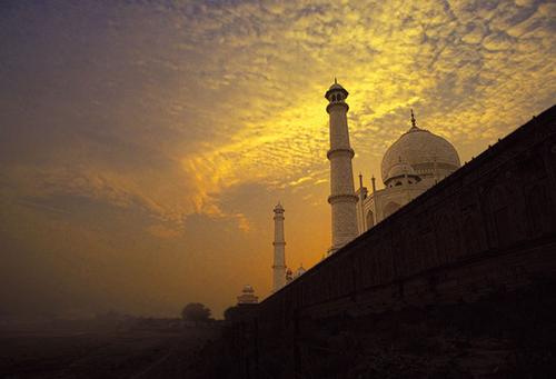 بنای تاریخی تاج محل- هندوستان