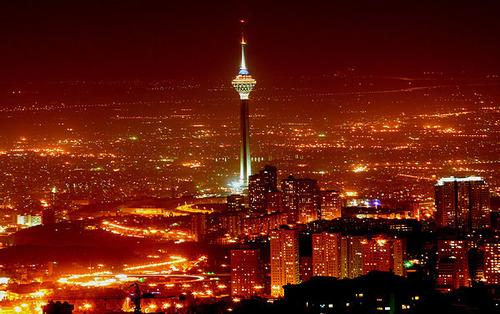 برج میلاد ایران- ارتفاع برج: 435 مت
