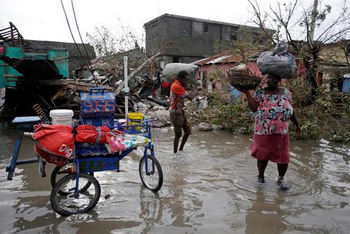 توفان متیو در کشور هاییتی