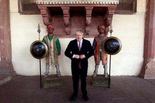 سفر رسمی بوریس جانسون وزیر امور خارجه بریتانیا به لاهور پاکستان
