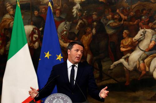 اعلام استعفای نخست وزیر ایتالیا پس از شکست رفراندوم اصلاح و تغییر قانون اساسی ایتالیا
