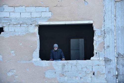مناطق تحت کنترل مخالفان مسلح حکومت در شهر حلب سوریه