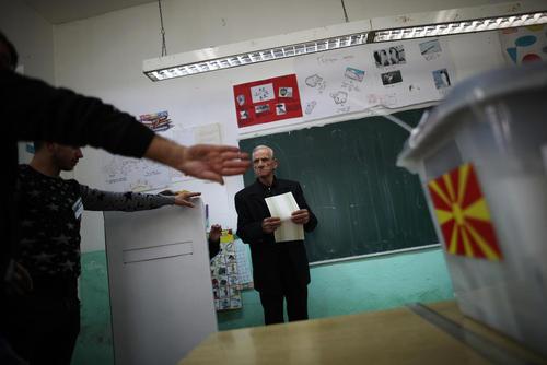 انتخابات پارلمانی در مقدونیه