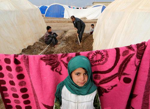 اردوگاه جنگ زدگان عراقی