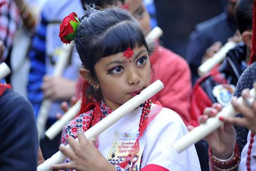 جشنواره آیینی یک اقلیت قومی در نپال – کاتماندو