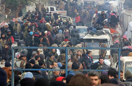 خروج تضمین شده مخالفان مسلح دولت سوریه و غیر نظامیان از بخش شرقی شهر حلب