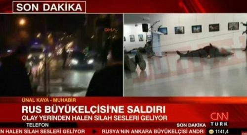 سفیر روسیه در ترکیه بعد از ترور