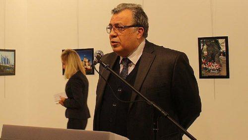 سفیر روسیه در ترکیه قبل از ترور