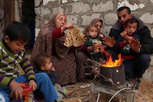 خان یونس در جنوب غزه