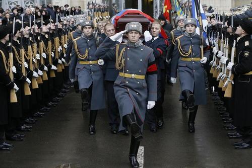 مراسم رسمی تشییع سفیر ترور شده روسیه در ترکیه – مسکو