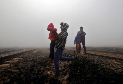 عبور از ریل آهن – آگارتالا هند
