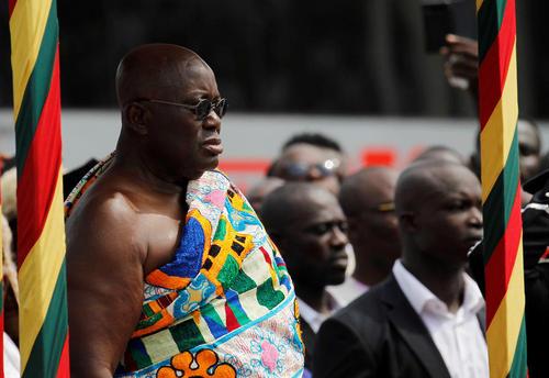 مراسم سوگند رییس جمهور جدید غنا