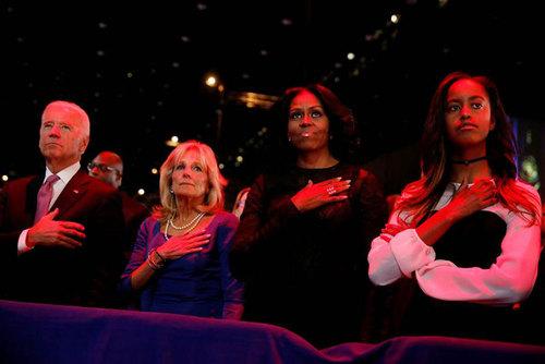 سخنرانی خداحافظی رئیس جمهور امریکا +عكس