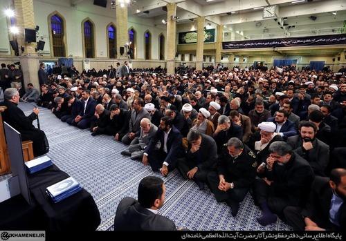 مراسم ترحیم آیت الله هاشمی با حضور رهبر معظم انقلاب