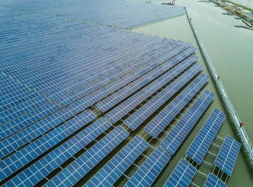 پنل های انرژی خورشیدی – چین
