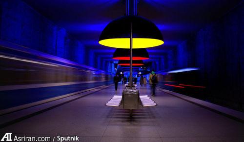 ایستگاه Westfriedhof در مونیخ.