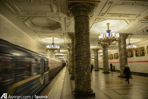 ایستگاه ٱوتوو در سن پترزبورگ.