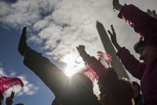 گردهمایی سالانه هزاران فعال محافظه کار مخالف سقط جنین در واشنگتن آمریکا