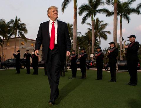 تعطیلات آخر هفته ترامپ در پالم بیچ فلوریدا