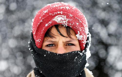 هوای سرد و برفی کابل