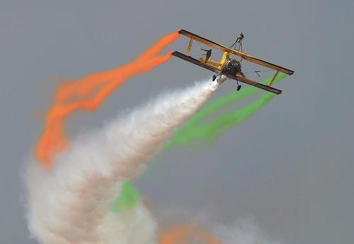 نمایش هوایی در بنگلور هند