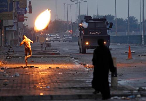 تظاهرات ضد دولتی در ششمین سالگرد آغاز جنبش بهار عربی در بحرین