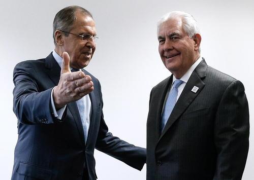نخستین دیدار وزیر امور خارجه جدید آمریکا با همتای روس در حاشیه نشست وزرای امور خارجه گروه بیست در بن آلمان