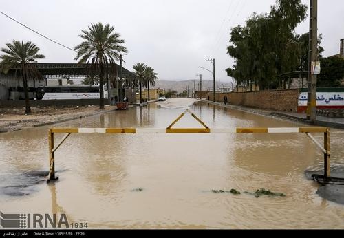 عکس سیل حوادث فارس حوادث شیراز اخبار شیراز اخبار جهرم