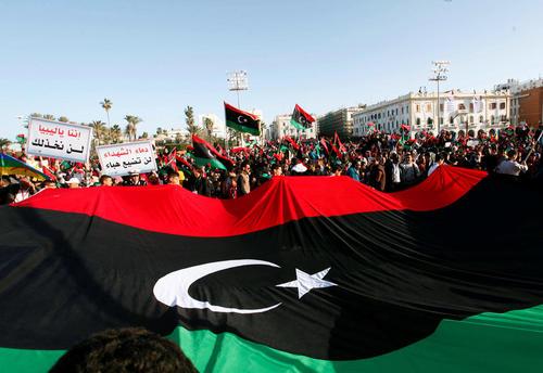 جشن ششمین سالگرد سقوط حکومت قذافی و پیروزی انقلاب مردمی در لیبی – طرابلس