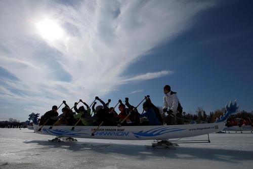 جشنواره قایقرانی روی یخ - رود