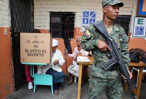 انتخابات ریاست جمهوری در اکوادور