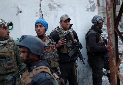 مدارس تا چندم باز هست95اسفند نظامیان عراقی در موصل /تصاویر