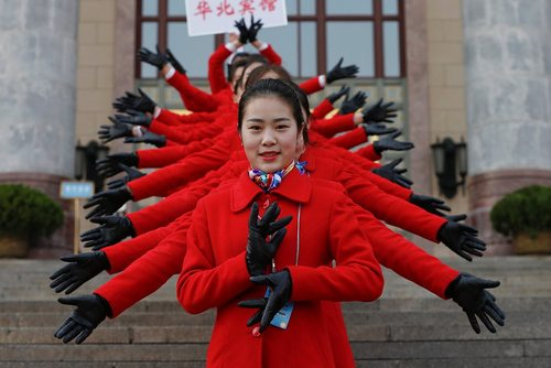 افتتاح نشست سالانه کنگره ملی خلق چین- پکن
