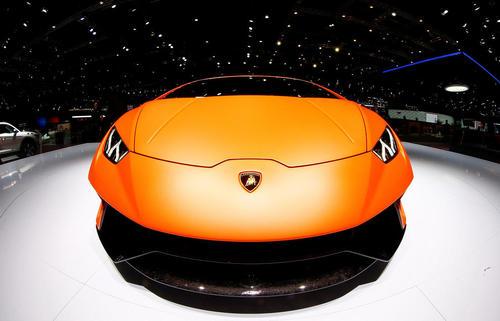لامبورگینی جدید در نمایشگاه خودروی ژنو