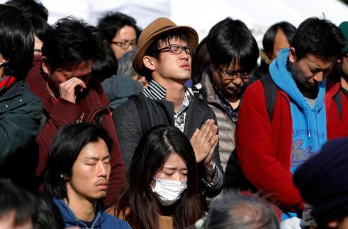 ششمین سالگرد زلزله مهیب 9 ریشتری و سونامی بزرگ در ژاپن – توکیو