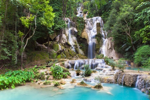 آبشار کاسکاده در لائوس