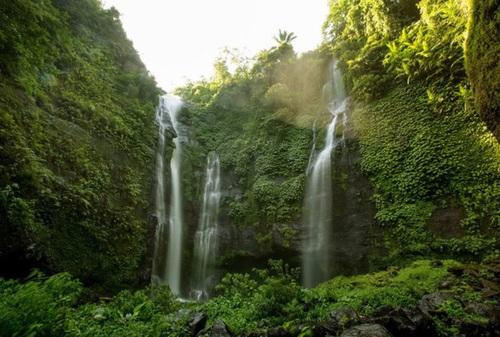 آبشار سکامپال در اندونزی