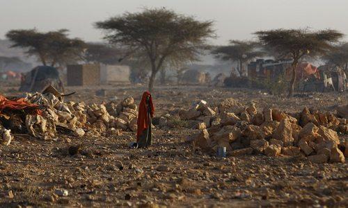 اردوگاه اسکان آوارگان جنگی در سومالی