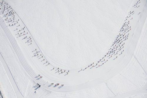 ه ماراتون اسکی با حضور 13 هزار شرکت کننده – سوییس