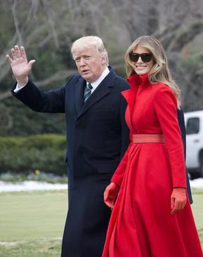 عزیمت ترامپ و همسرش از کاخ سفید به ویلای تفریحی رییس جمهور آمریکا در فلوریدا
