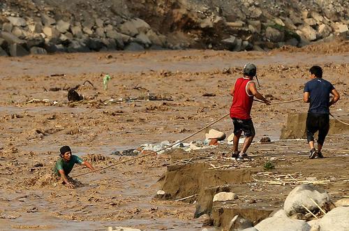 سیل در لیما پایتخت پرو