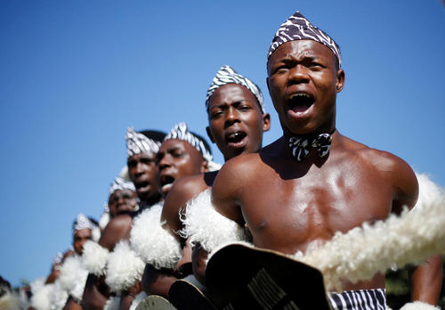 رقابت های سالانه رقص سنتی زولو در شهر دوربان آفریقای جنوبی