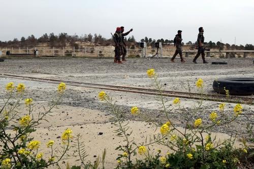 ادامه درگیری های مسلحانه در استان رقه سوریه