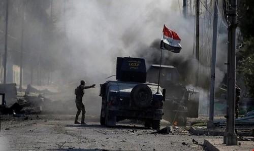 جنگ خانه به خانه ارتش عراق و داعش در شهر موصل عراق