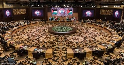نشست سران اتحادیه عرب در بحرالمیت اردن