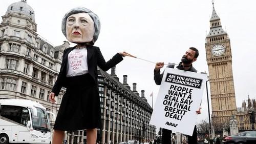 تظاهرات در مخالفت با خروج اتحادیه اروپا در لندن